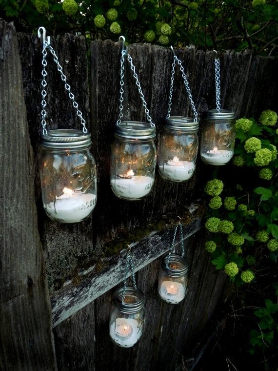 Inspiration about Mason Jar Lights Outdoor – Outdoor Lighting Ideas With Outdoor Jar Lanterns (#12 of 15)