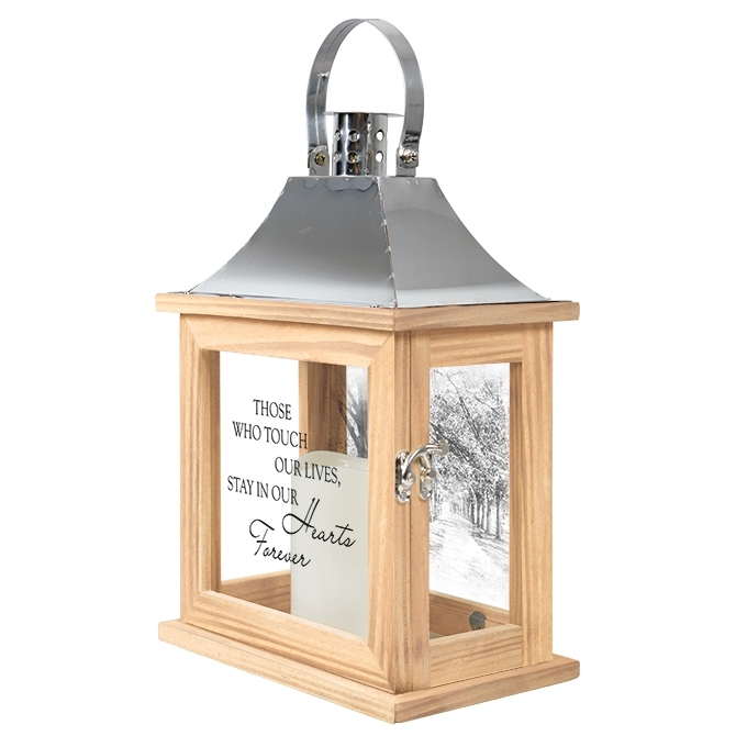 Memorial Lantern – Those Who Touch Our Lives Inside Outdoor Memorial Lanterns (View 9 of 15)