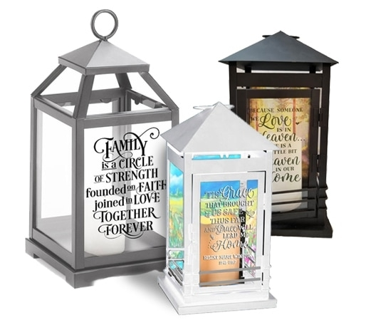 Popular Photo of Outdoor Memorial Lanterns