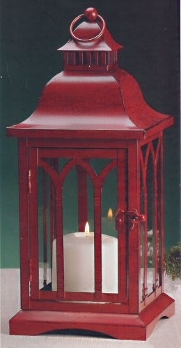 Inspiration about Metal Candle Lanterns, Wedding Centerpiece, Outdoor Wedding, Table Within Red Outdoor Table Lanterns (#5 of 15)