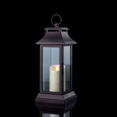Metal Luminara Candle Lantern – Nandina Home Throughout Outdoor Luminara Lanterns (#13 of 15)