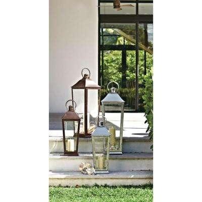 Metallics – Outdoor Decor – Garden Center – The Home Depot In Outdoor Decorative Lanterns (View 3 of 15)