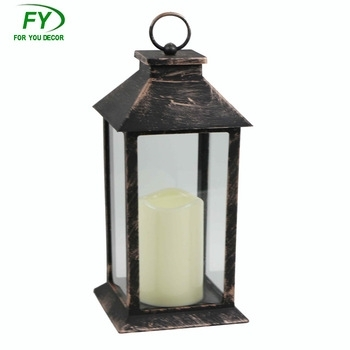 Ml 1840 Plastic Home Outdoor Camping Led Candle Lantern Without Within Outdoor Lanterns With Led Candles (View 14 of 15)