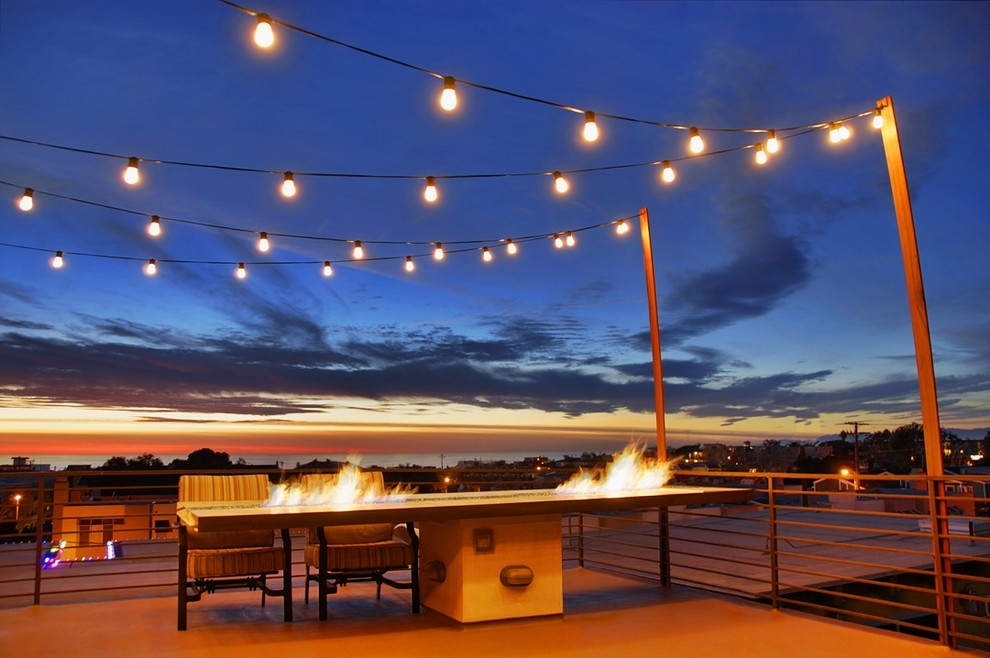 Inspiration about Modern Outdoor Deck Lighting — New Home Design : Having Wonderful In Outdoor Lanterns For Deck (#1 of 15)