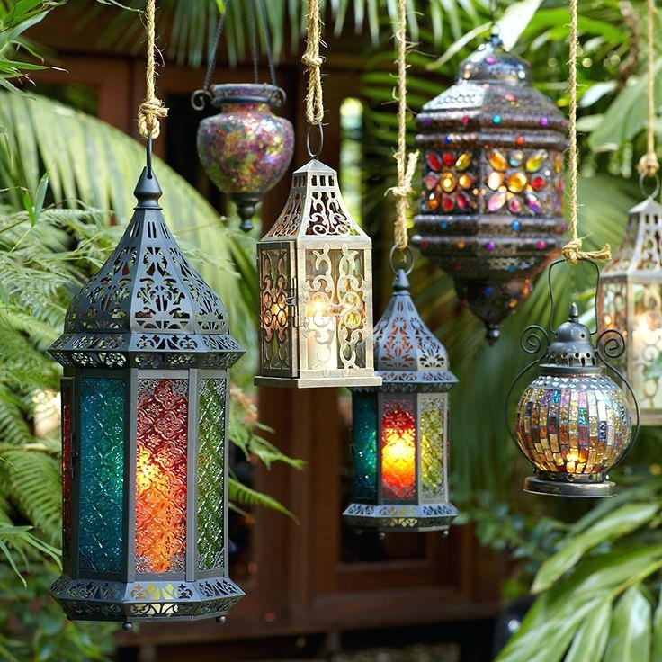 Moroccan Outdoor Lanterns Best Those Patio Lanterns Images On Paper Within Moroccan Outdoor Lanterns (View 14 of 15)