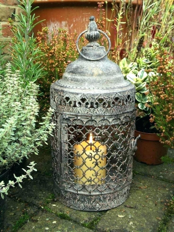 Inspiration about Moroccan Outdoor Lanterns Cool Outdoor Lanterns Minimalist Decor In Moroccan Outdoor Electric Lanterns (#3 of 15)