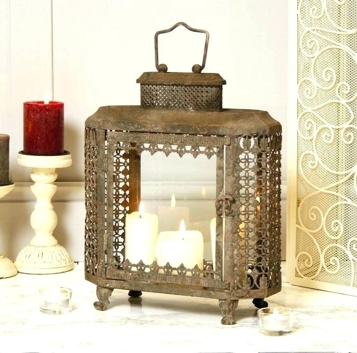 Moroccan Outdoor Lanterns Cool Outdoor Lanterns Minimalist Medium Throughout Outdoor Patio Electric Lanterns (#8 of 15)