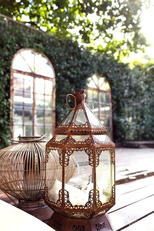 Inspiration about Moroccan Outdoor Lanterns – Infonesia With Regard To Moroccan Outdoor Electric Lanterns (#6 of 15)
