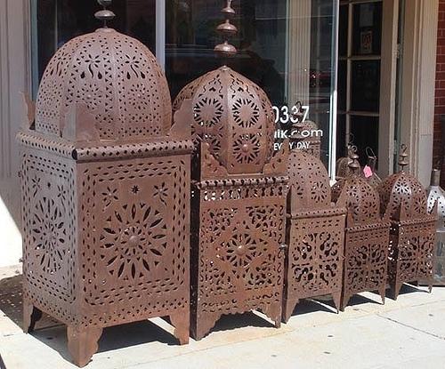 Moroccan Outdoor Lanterns | Moroccan Kasbah Lanterns Feature… | Flickr With Regard To Moroccan Outdoor Lanterns (View 3 of 15)