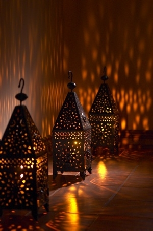 Inspiration about Moroccan Outdoor Lanterns Throughout Moroccan Outdoor Lanterns (#4 of 15)