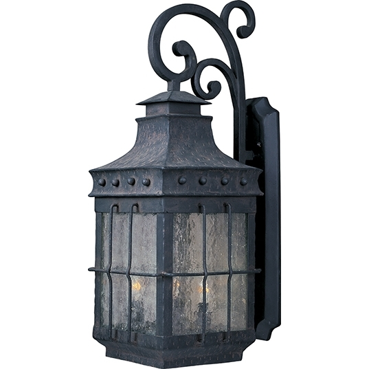Nantucket 4 Light Outdoor Wall Lantern In Nantucket Outdoor Lanterns (View 3 of 15)