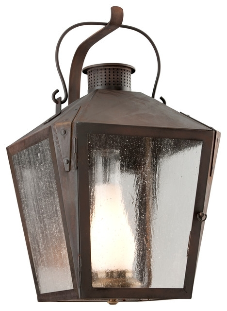 Nantucket, Outdoor Wall Lantern – Industrial – Outdoor Wall Lights Regarding Nantucket Outdoor Lanterns (View 2 of 15)