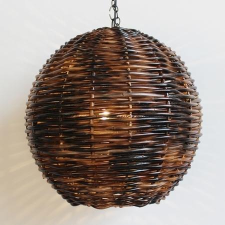Natural Fiber & Wicker Lanterns ~ – In Outdoor Bamboo Lanterns (View 13 of 15)