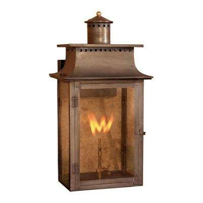 Natural Gas – Outdoor Lighting – Lighting – The Home Depot Intended For Outdoor Gas Lanterns (View 8 of 15)