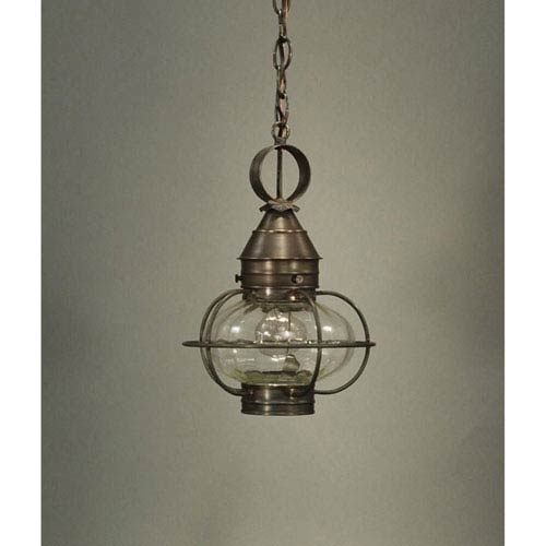 Northeast Lantern Onion Dark Brass One Light Nine Inch Outdoor For Outdoor Lighting Onion Lanterns (View 5 of 15)