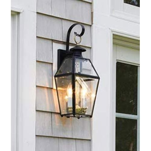 Norwell Old Colony Black Outdoor Wall Mount | Home Ideas | Pinterest With Regard To Wall Mounted Outdoor Lanterns (View 4 of 15)