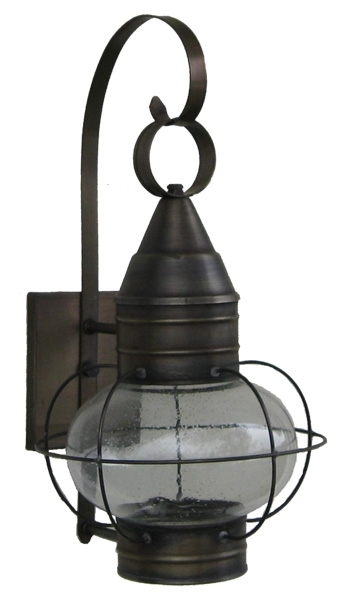 Onion Lights And Lamps – Wall And Post Onion Lamps – Sandwich Lantern Regarding Outdoor Lighting Onion Lanterns (View 2 of 15)