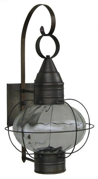 Onion Lights And Lamps – Wall And Post Onion Lamps – Sandwich Lantern With Regard To Outdoor Lighting Onion Lanterns (View 3 of 15)
