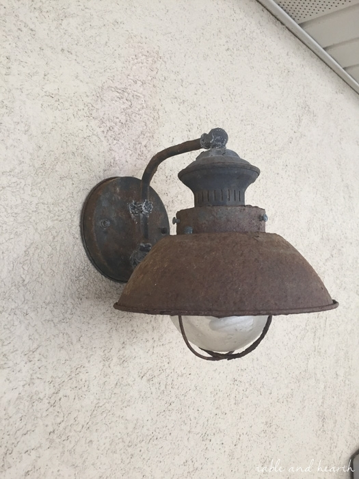Inspiration about Our New Nautical Rust Proof Outdoor Light Fixtures | Table And Hearth Throughout Rust Proof Outdoor Lanterns (#7 of 15)