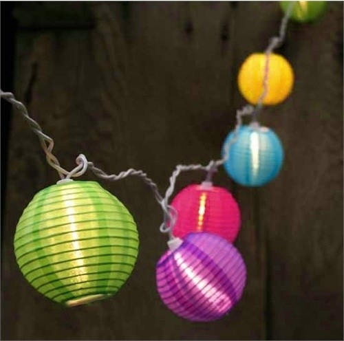 Outdoor Chinese Lantern String Lights – Democraciaejustica Throughout Outdoor Chinese Lanterns For Patio (#8 of 15)