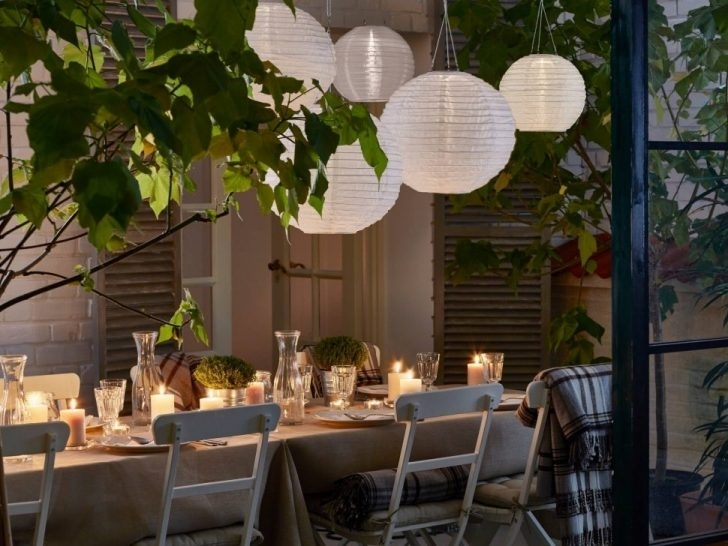 Popular Photo of Outdoor Paper Lanterns For Patio