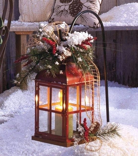Outdoor Christmas Lanterns Cool Lanterns Decor Ideas For Outdoors With Regard To Outdoor Xmas Lanterns (View 4 of 15)