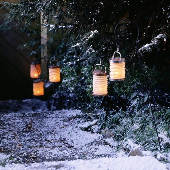 Outdoor Christmas Lighting Ideas | Ideal Home Throughout Outdoor Xmas Lanterns (View 10 of 15)