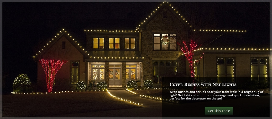 Outdoor Christmas Yard Decorating Ideas Regarding Outdoor Christmas Rope Lanterns (#11 of 15)