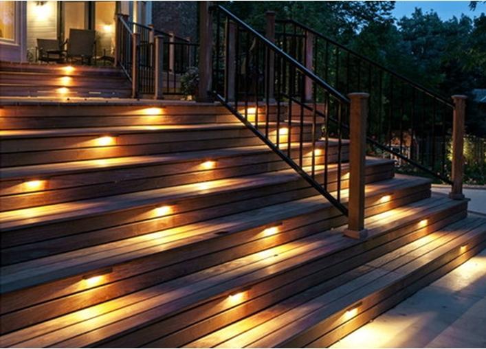 Outdoor Deck Lighting Tips Torchstar Under Deck Lighting – Fixs Project Within Outdoor Deck Lanterns (#10 of 15)