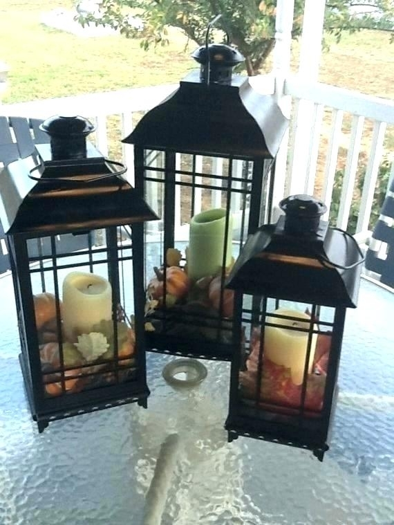 Outdoor Decorative Lantern Outdoor Decorative Lanterns Decor Regarding Outdoor Decorative Lanterns (View 4 of 15)