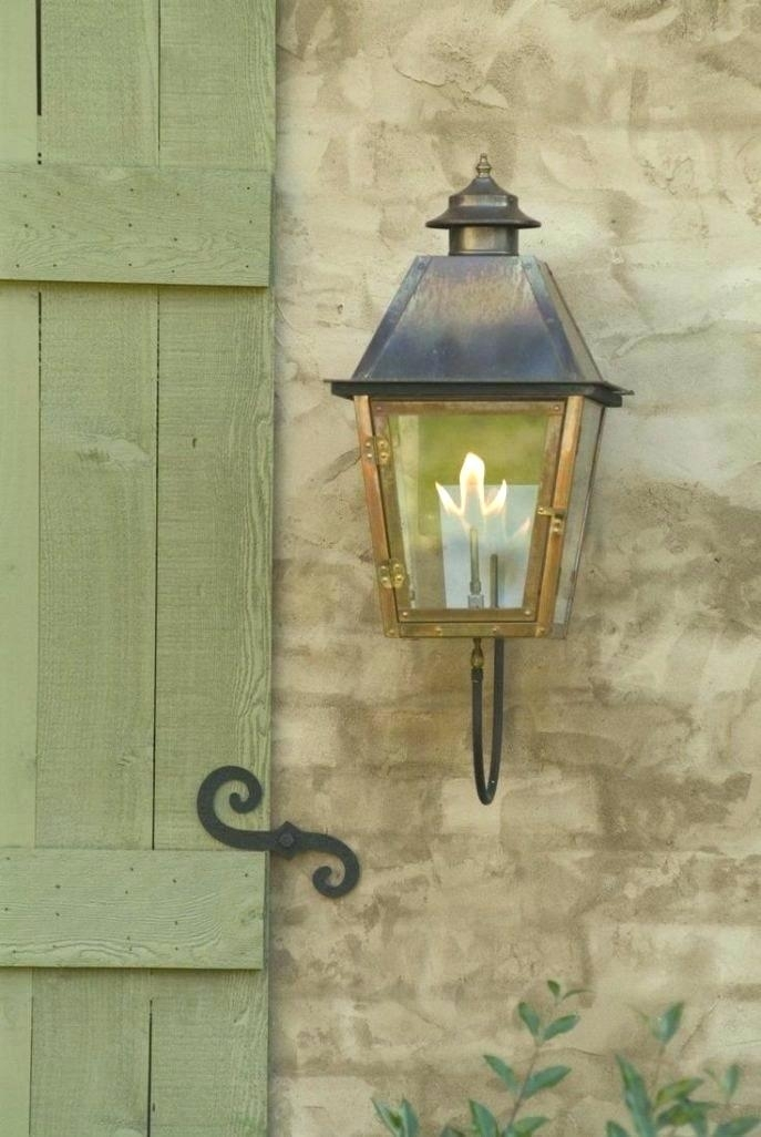 Outdoor Electric Lanterns Gas Lamps Lamp Best Copper On Lights Atlas Within Moroccan Outdoor Electric Lanterns (View 10 of 15)