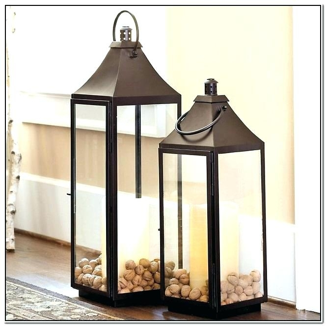 Outdoor Floor Lanterns I Exterior Floor Lamp Exterior Floor Lighting With Outdoor Standing Lanterns (View 11 of 15)