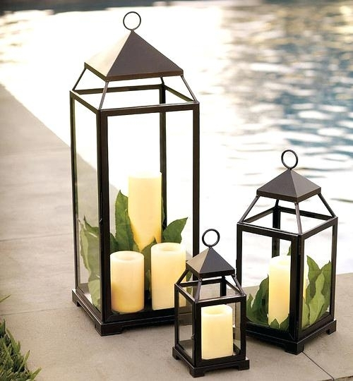 Outdoor Floor Lanterns Lantern Traditional Outdoor Lighting Large In Outdoor Standing Lanterns (View 3 of 15)