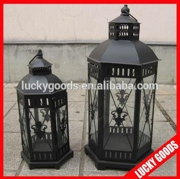 Outdoor Floor Standing Vintage Candle Lanterns For Sale Pertaining To Outdoor Standing Lanterns (View 13 of 15)