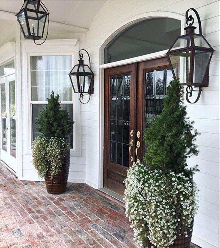 Outdoor Front Porch Lighting For Outdoor Door Lanterns (View 9 of 15)
