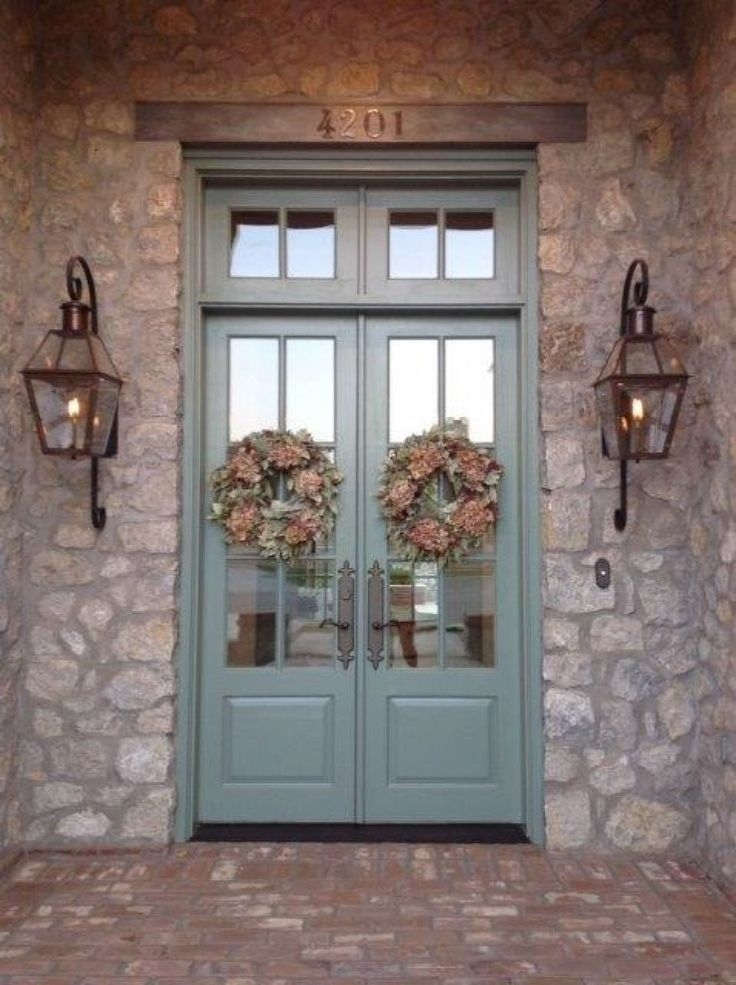 Outdoor Front Porch Lighting Pertaining To Outdoor Lanterns For Front Porch (#9 of 15)