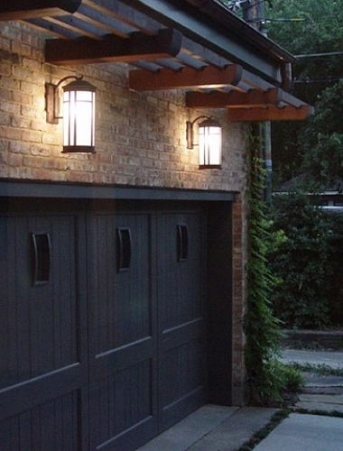 Outdoor Garage Lighting Ideas With Regard To Outdoor Lanterns For Garage (View 2 of 15)
