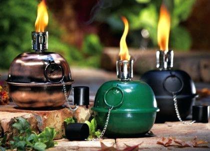 Outdoor Garden Oil Lanterns (View 8 of 15)