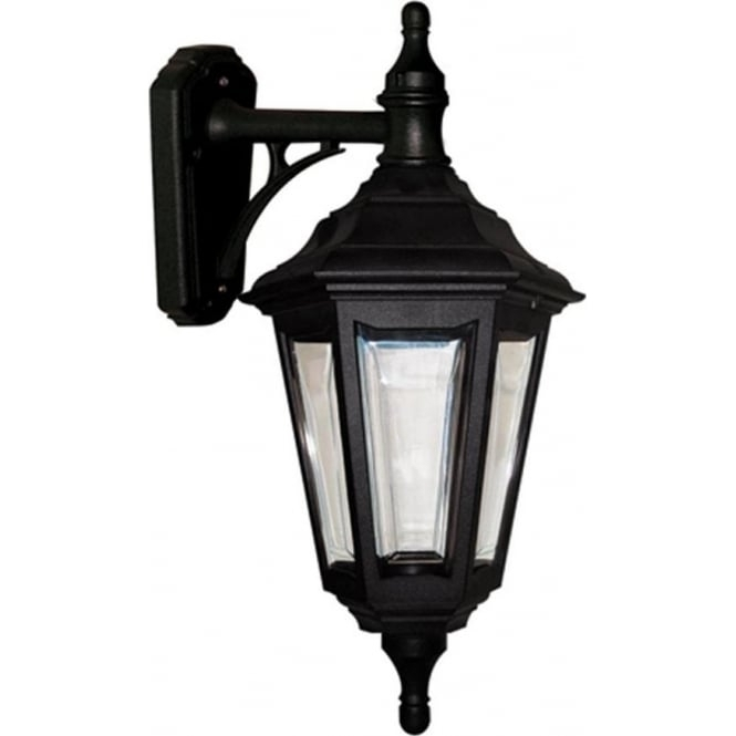 Outdoor Garden Wall Light, Traditional Black Rust Proof Lantern With Regard To Rust Proof Outdoor Lanterns (View 9 of 15)