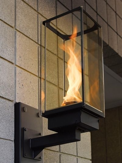 Outdoor Gas Lighting – Tempest Torch Gas Lamp | Pools And Patios Intended For Outdoor Gas Lanterns (View 14 of 15)