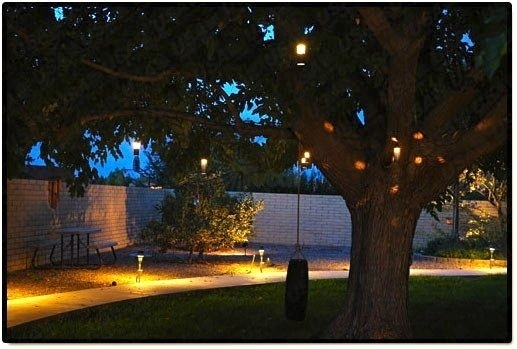 Outdoor Hanging Lanterns For Trees Landscape Lighting 9013 Bk Low In Outdoor Low Voltage Lanterns (#11 of 15)