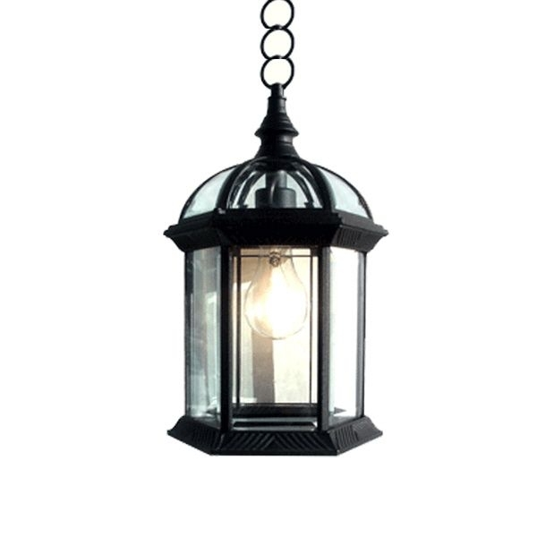 Outdoor Hanging Lighting Light Fixture  (#8 of 15)