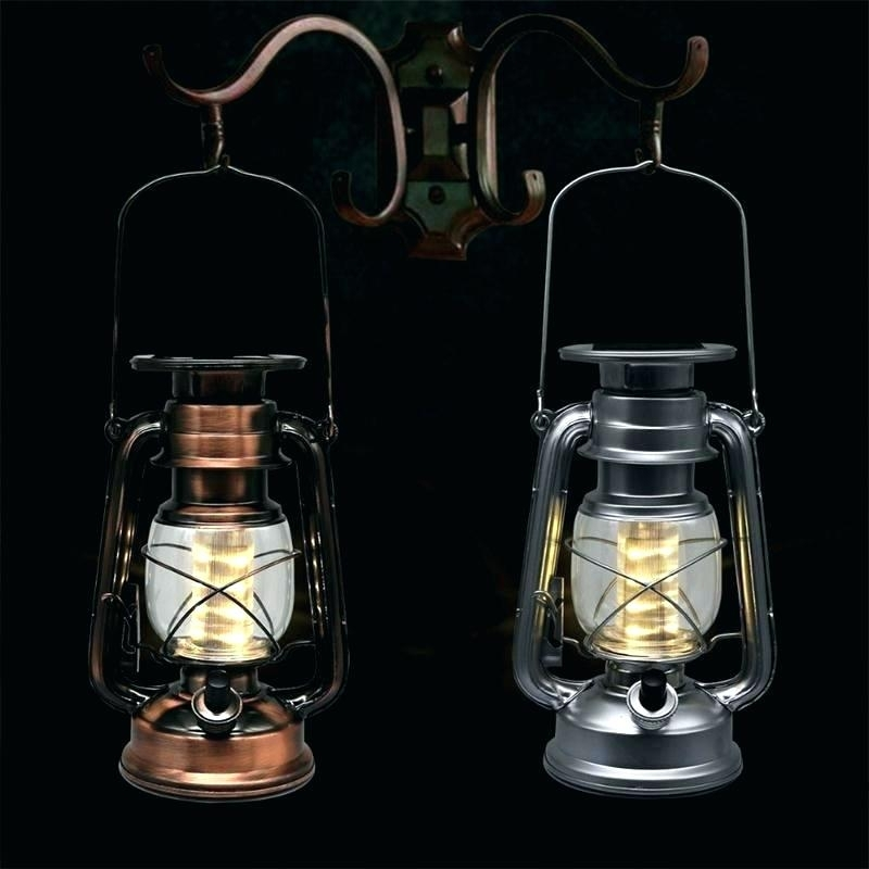 Inspiration about Outdoor Hanging Solar Lights Lanterns Led Lighting Lantern For Within Outdoor Lanterns With Led Lights (#1 of 15)