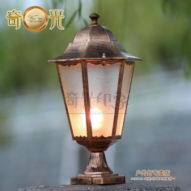 Outdoor Lamp Pillar Lamp Wall Light Wall Light Outdoor Lawn Lamp Within Outdoor Lanterns For Pillars (View 15 of 15)