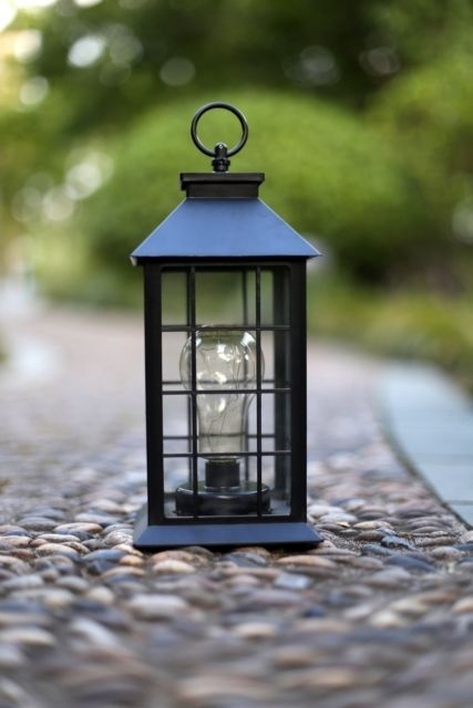 Outdoor Lantern Hanging Light Vintage Style Garden Yard Lamp Decor For Outdoor Vintage Lanterns (View 7 of 15)