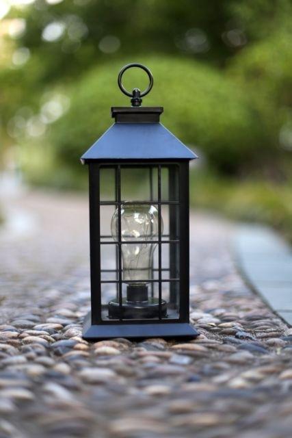 Outdoor Lantern Hanging Light Vintage Style Garden Yard Lamp Decor Pertaining To Vintage Outdoor Lanterns (View 4 of 15)