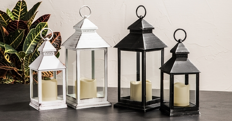 Outdoor – Lanterns And Lighting | Kitchen Stuff Plus For Metal Outdoor Lanterns (View 13 of 15)