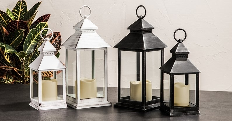 Outdoor – Lanterns And Lighting | Kitchen Stuff Plus Throughout Xl Outdoor Lanterns (#9 of 15)