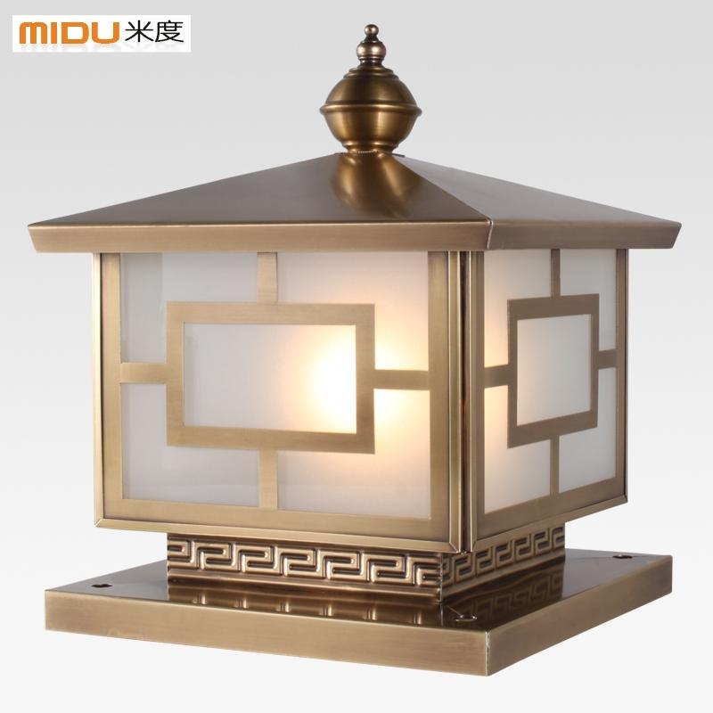 Outdoor Lanterns For Columns – Outdoor Lighting Ideas Inside Outdoor Lanterns For Pillars (#8 of 15)