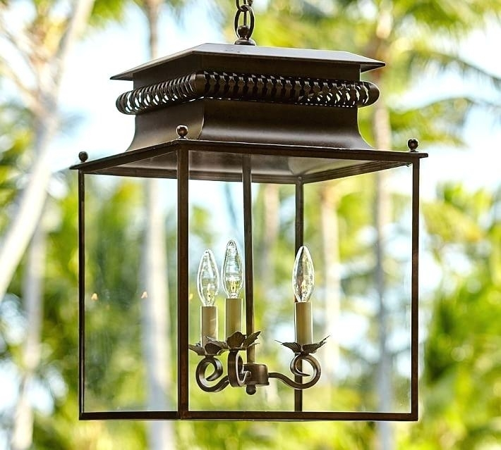 Inspiration about Outdoor Lanterns For Patio Indoor Outdoor Lantern Pottery Barn With Outdoor Lanterns At Pottery Barn (#7 of 15)